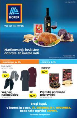 Hofer katalog od 2. 11.