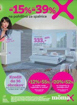 Momax katalog Pohištvo za spalnice do 23. 10.