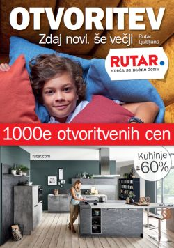Rutar katalog 1000 otvoritvenih cen Ljubljana