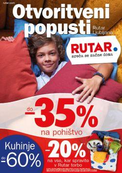Rutar katalog Otvoritveni popusti Ljubljana