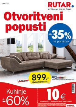 Rutar katalog Otvoritveni popusti do 30. 10.