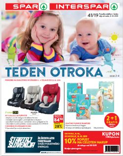 Spar in Interspar katalog do 22. 10.