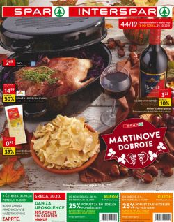 Spar in Interspar katalog do 12. 11.