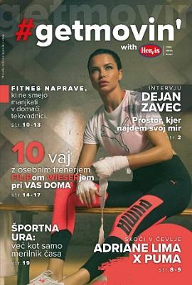 Hervis katalog Fitnes magazin
