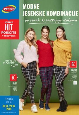 Pepco katalog Modne jesenske kombinacije