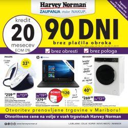 Harvey Norman katalog Potrošniška elektronika