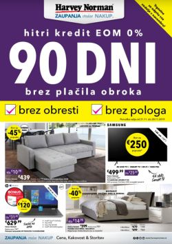 Harvey Norman katalog 90 dni do 28. 11.