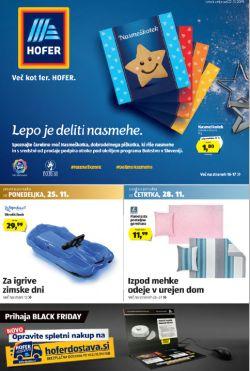 Hofer katalog od 22. 11.