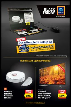 Hofer katalog Black Friday od 29. 11.