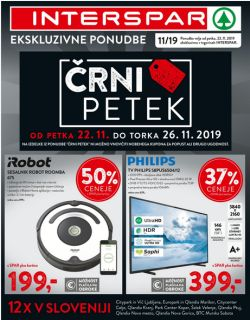 Interspar katalog Črni petek do 26. 11.