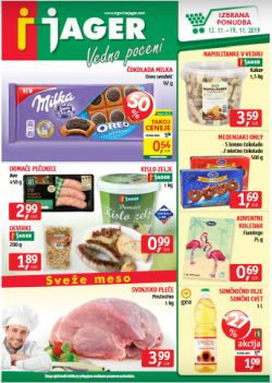 Jager katalog živila do 19. 11.