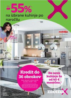 Momax katalog Do – 55 % na kuhinje do 16. 11.