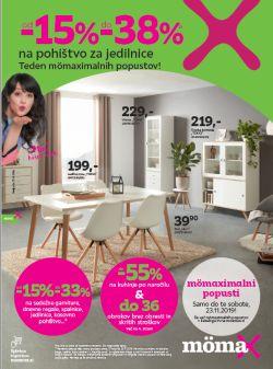 Momax katalog Popust na jedilnice do 23. 11.