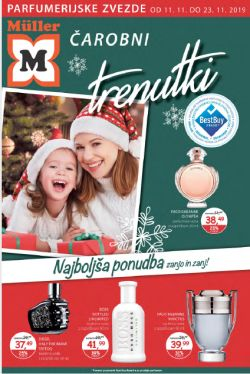 Muller katalog Čarobni trenutki parfumerija