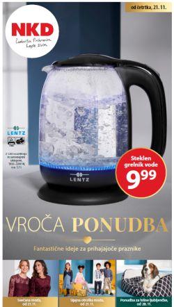 NKD katalog Vroča ponudba od 21. 11.