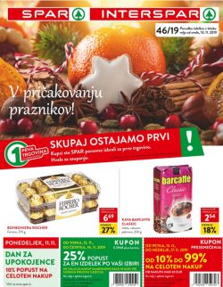 Spar in Interspar katalog do 26. 11.