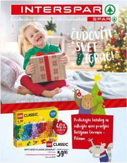 Spar in Interspar katalog Čudoviti svet igrač