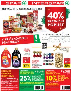 Spar in Interspar katalog do 3. 12.