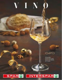 Spar in Interspar katalog Vino do 10. 12.