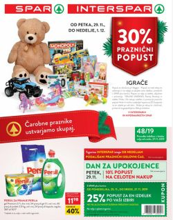 Spar in Interspar katalog do 10. 12.