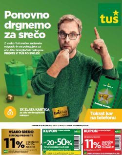 Tuš katalog trgovine in franšize do 18. 11.