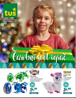 Tuš katalog Igrače do 4. 1.