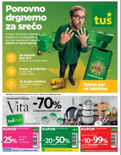 Tuš katalog trgovine in franšize do 25. 11.
