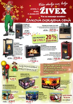 Živex katalog do 31. 12.