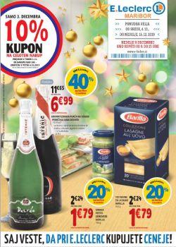 E Leclerc katalog Maribor do 15. 12.