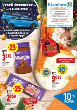 E Leclerc katalog Ljubljana do 22. 12.