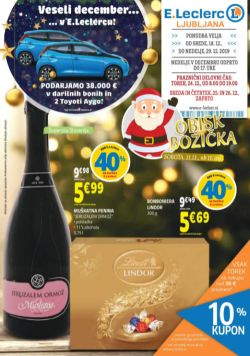 E Leclerc katalog Ljubljana do 29. 12.