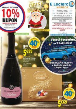 E Leclerc katalog Maribor do 29. 12.