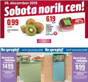 Eurospin sobota norih cen 28. 12.