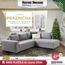 Harvey Norman katalog Pohištvo do 17. 12.