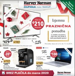 Harvey Norman katalog Tehnika do 17. 12.