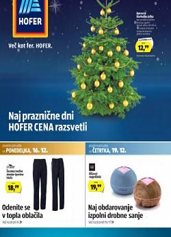 Hofer katalog od 13. 12.
