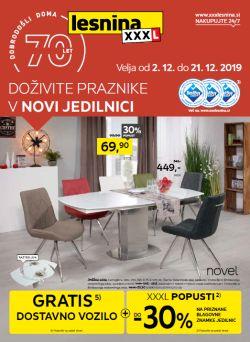 Lesnina katalog Nova jedilnica do 21. 12.