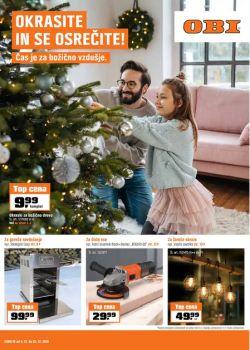 OBI katalog Čas je za božično vzdušje