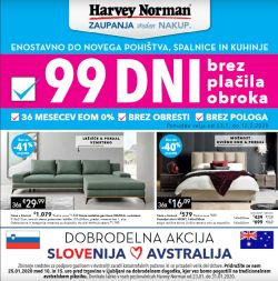 Harvey Norman katalog 99 dni brez plačila obroka