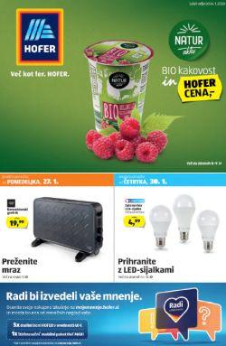 Hofer katalog od 24. 1.