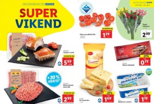 Lidl super vikend do 12. 1.