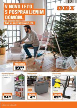 OBI katalog V novo leto s pospravljenim domom