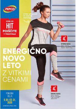 Pepco katalog Energično novo leto do 22. 1.