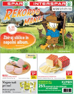 Spar in Interspar katalog do 28. 1.