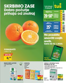 Tuš katalog trgovine in franšize do 13. 1.