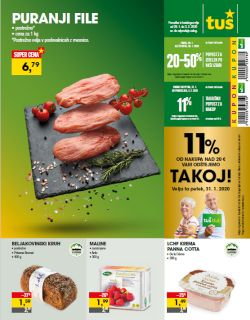 Tuš katalog trgovine in franšize do 3. 2.