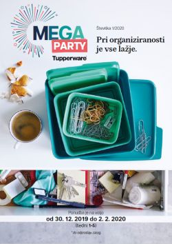 Tupperware katalog Mega party do 2. 2.