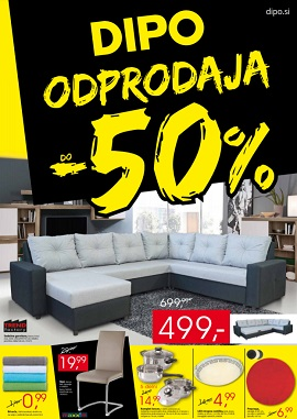 Dipo katalog Odprodaja -50% do 11.1.