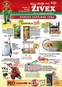Živex katalog do 28. 2.
