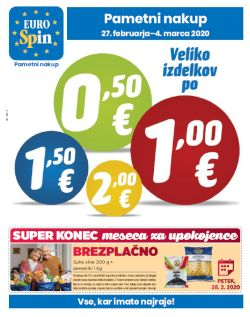 Eurospin katalog do 4. 3.